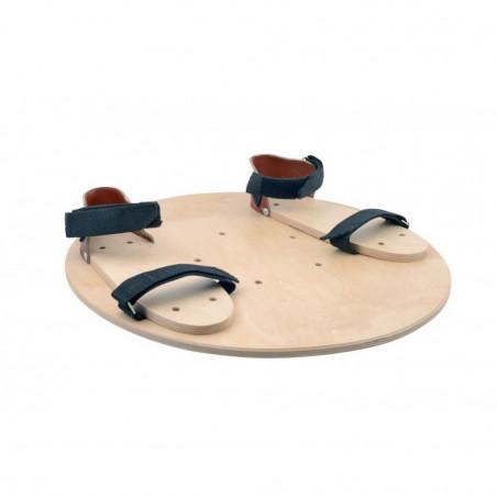 Wycinek kuli z sandałami WK-S