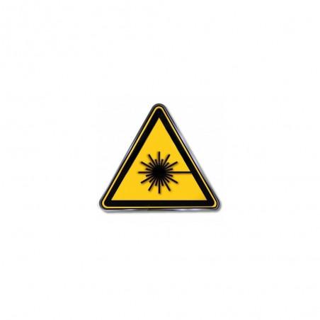 Etykieta ostrzegawcza - laseroterapia