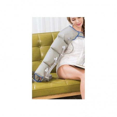 Aparat do drenażu limfatycznego POWER Q1000 PREMIUM z 2 mankietami na nogę i 1 mankietem na rękę