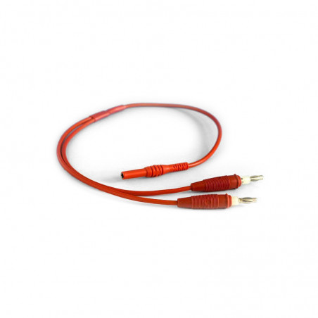 Kabel rozgałęziajacy do elektroterapii- czerwony