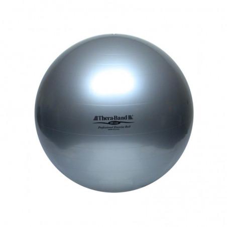 Piłka rehabilitacyjna - srebrna - 85 cm