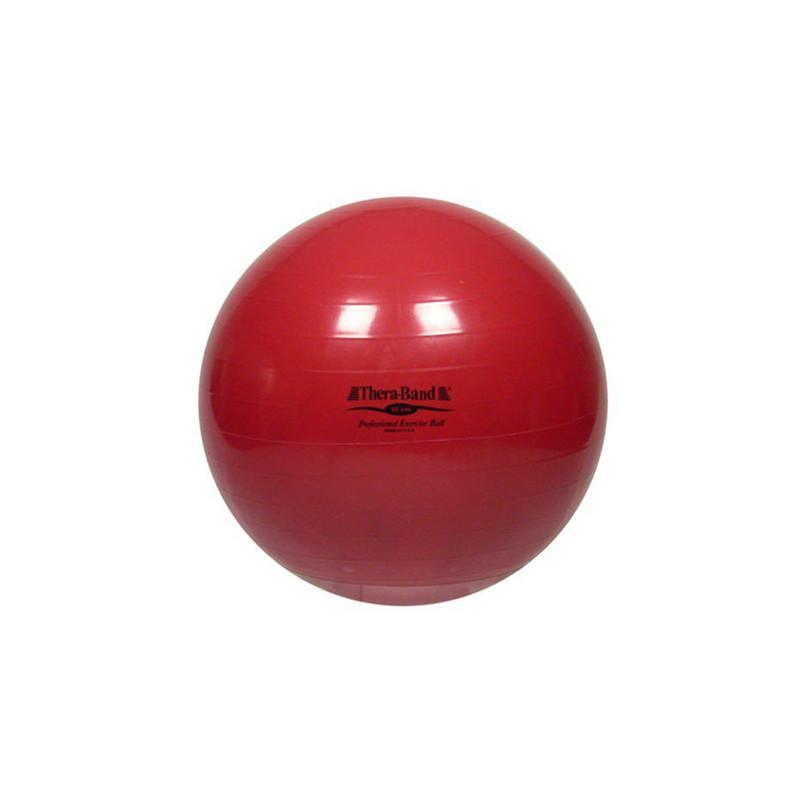 Piłka rehabilitacyjna - czerwona - 55 cm