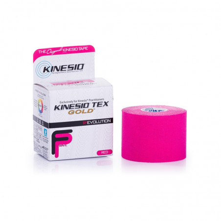 Taśma Kinesiology ( 5m/ 5cm) - kolor różowy