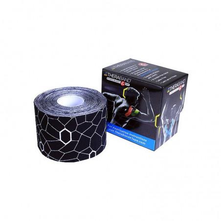Kinesiology Tape Thera Band 5 cm x 31,4 m kolor czarny