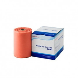 Taśma rehabilitacyjna Sanctband 1,5 m - brzoskwiniowa - opór extra lekki