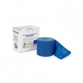 Bezlateksowa taśma rehabilitacyjna - opór extra mocny (niebieska)