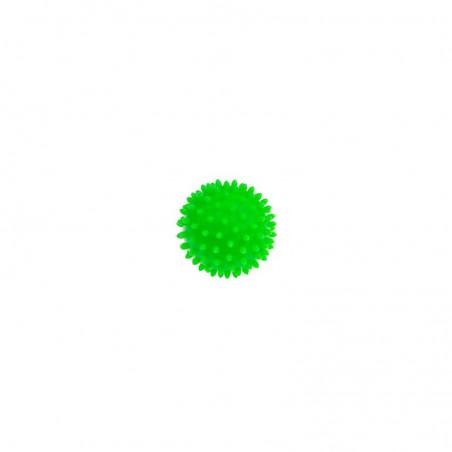 Piłeczka z kolcami - jeż - 8 cm - zielona