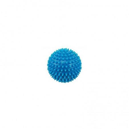 Piłeczka z kolcami  - jeż - 10 cm - niebieska