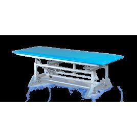 SR-3-B Stół rehabilitacyjny do ćwiczeń z dziećmi z ręczną zmianą wysokości leżyska