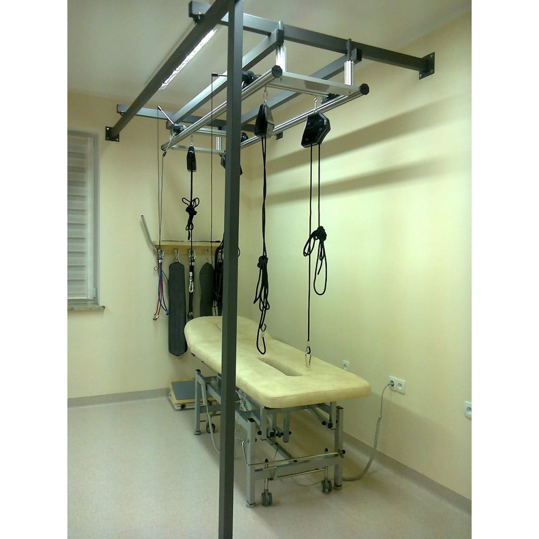 Konstrukcja wolnostojąca lub przyścienna do SLING THERAPY