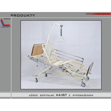"Łóżko rehabilitacyjne ""A-6-3S/T"""