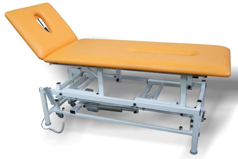 metalowy stół do rehabilitacji