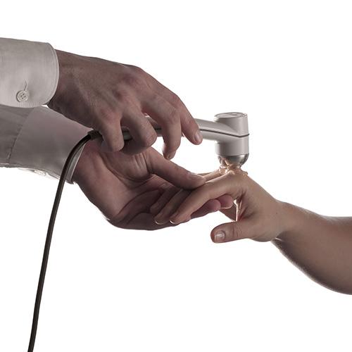 urządzenie do sonoterapii zabieg